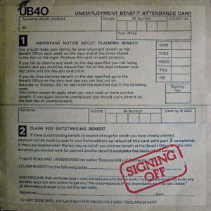 U B 40 - Signing Off